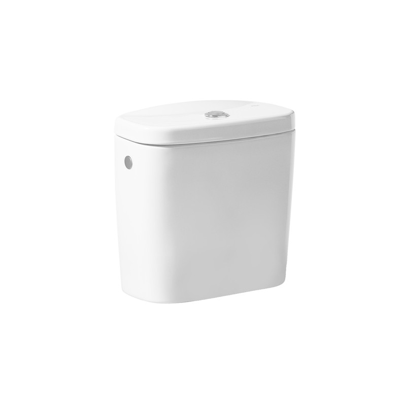 Cisterna de doble descarga 6/3L con salida lateral para inodoro Victoria - Roca