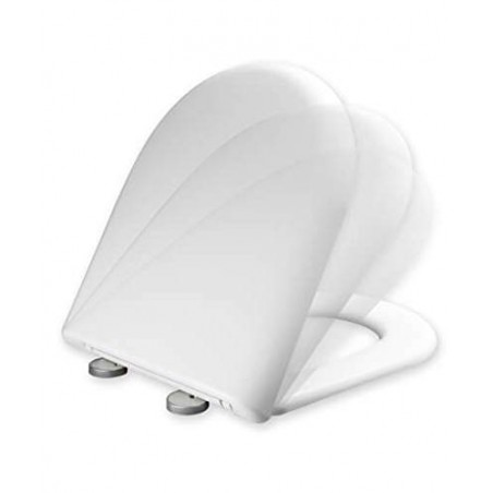 Tapa y asiento de inodoro con caida amortiguada - Compatible con Gala Marina 2008
