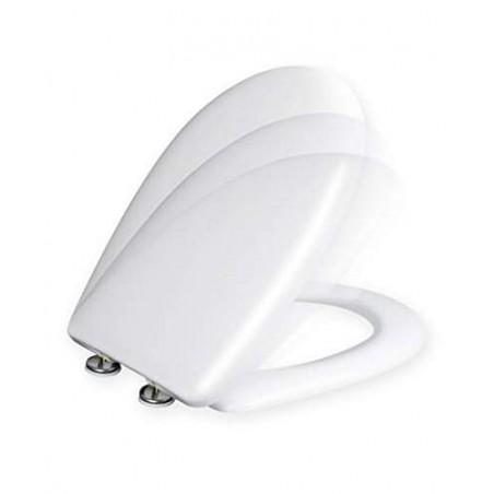 Tapa y asiento de inodoro con caida amortiguada - Compatible con Gala Bacara