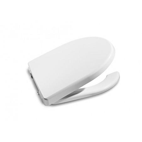 Tapa y asiento de inodoro Access Roca (Apertura Frontal y bisagras acetálicas) - producto original Roca