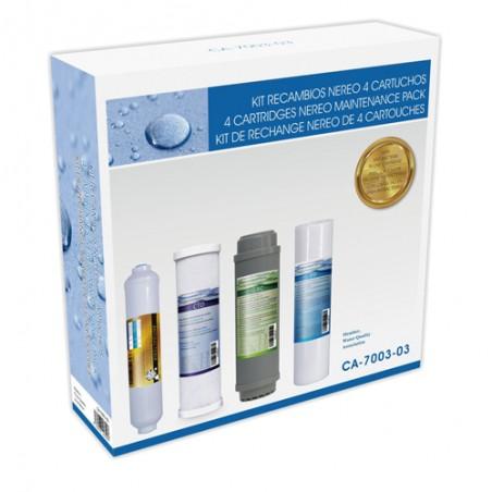 Recambio cartuchos ósmosis NEREO - Hidro Water