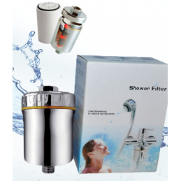 Filtro purificador de agua para ducha SHOWER FILTER - Hidro Water