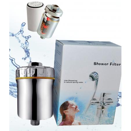 Filtro purificador de agua para ducha SHOWER FILTER - Hidro Water