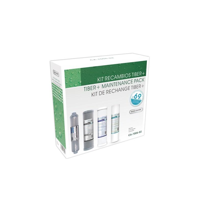 Recambio cartuchos ósmosis TIBER PLUS - Hidro Water
